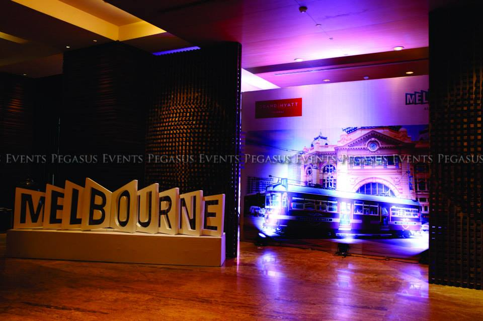 Branding and Logo at Tourism Press Meet created by Pegasus Events Pvt Ltd
