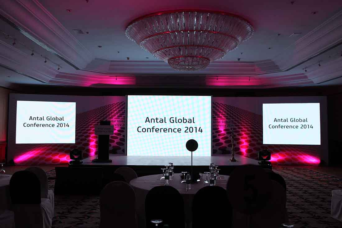 Gobal Conference services by event management company Pegasus Events Pvt Ltd