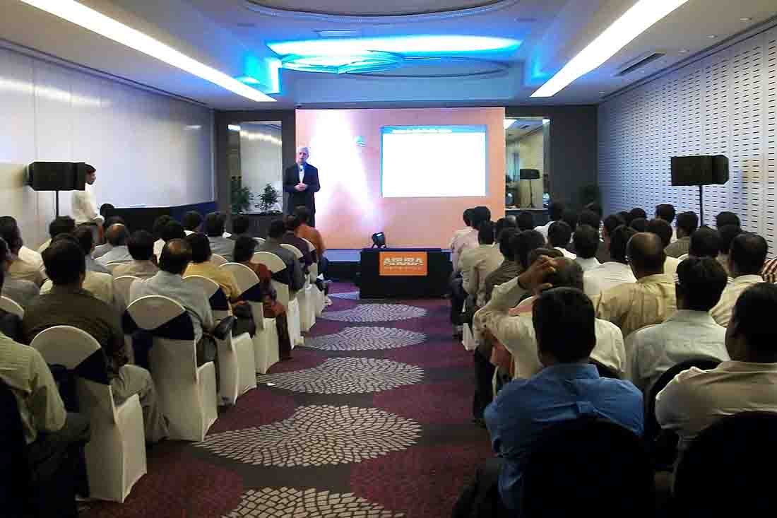Townhall planned by Pegasus Events Pvt Ltd