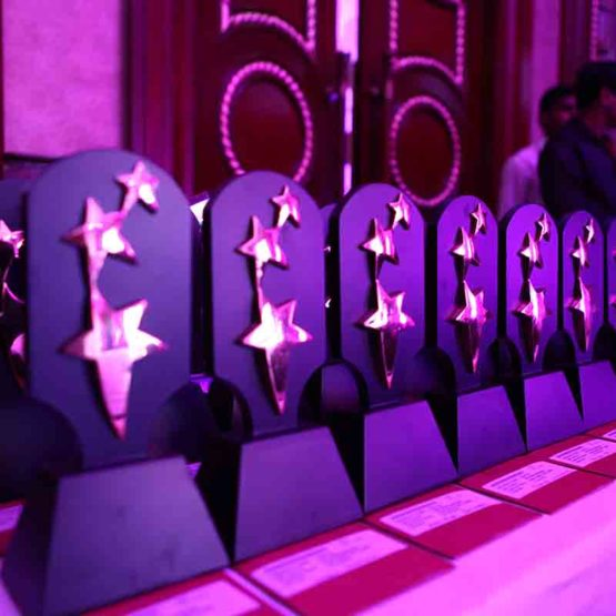 Trophy designs for Awards Ceremonies by Pegasus Events Pvt Ltd