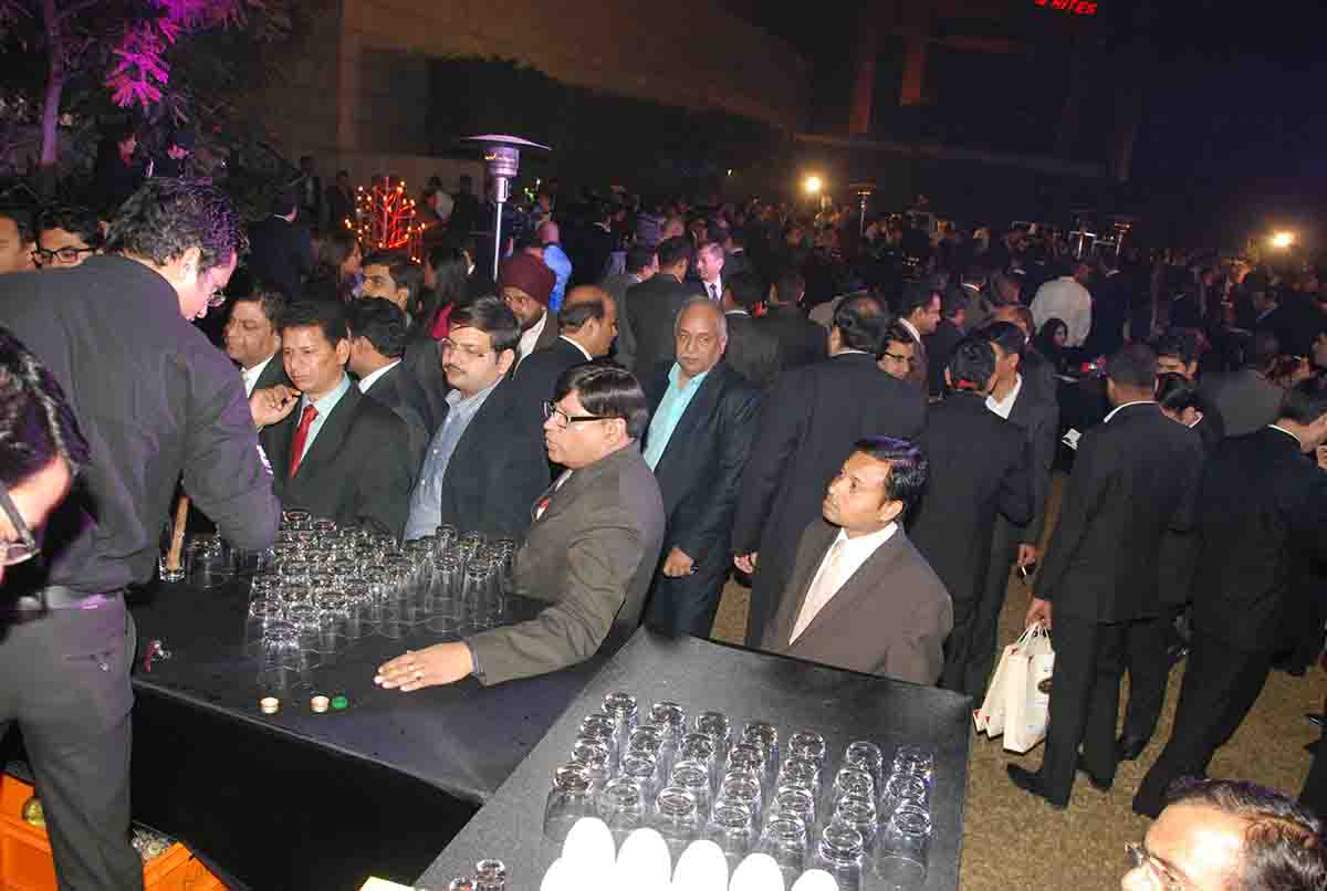 Cocktail reception for Awards Function by Pegasus Events Pvt Ltd