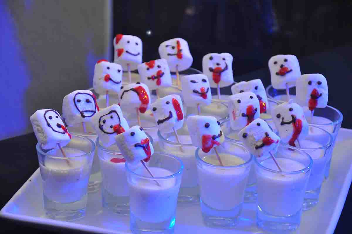 Themed catering at annual corporate party managed by Pegasus Events Pvt Ltd