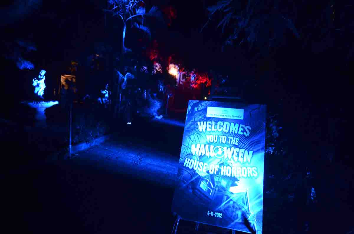 Halloween Theme Decor for Corporate Party managed by Pegasus Events Pvt Ltd