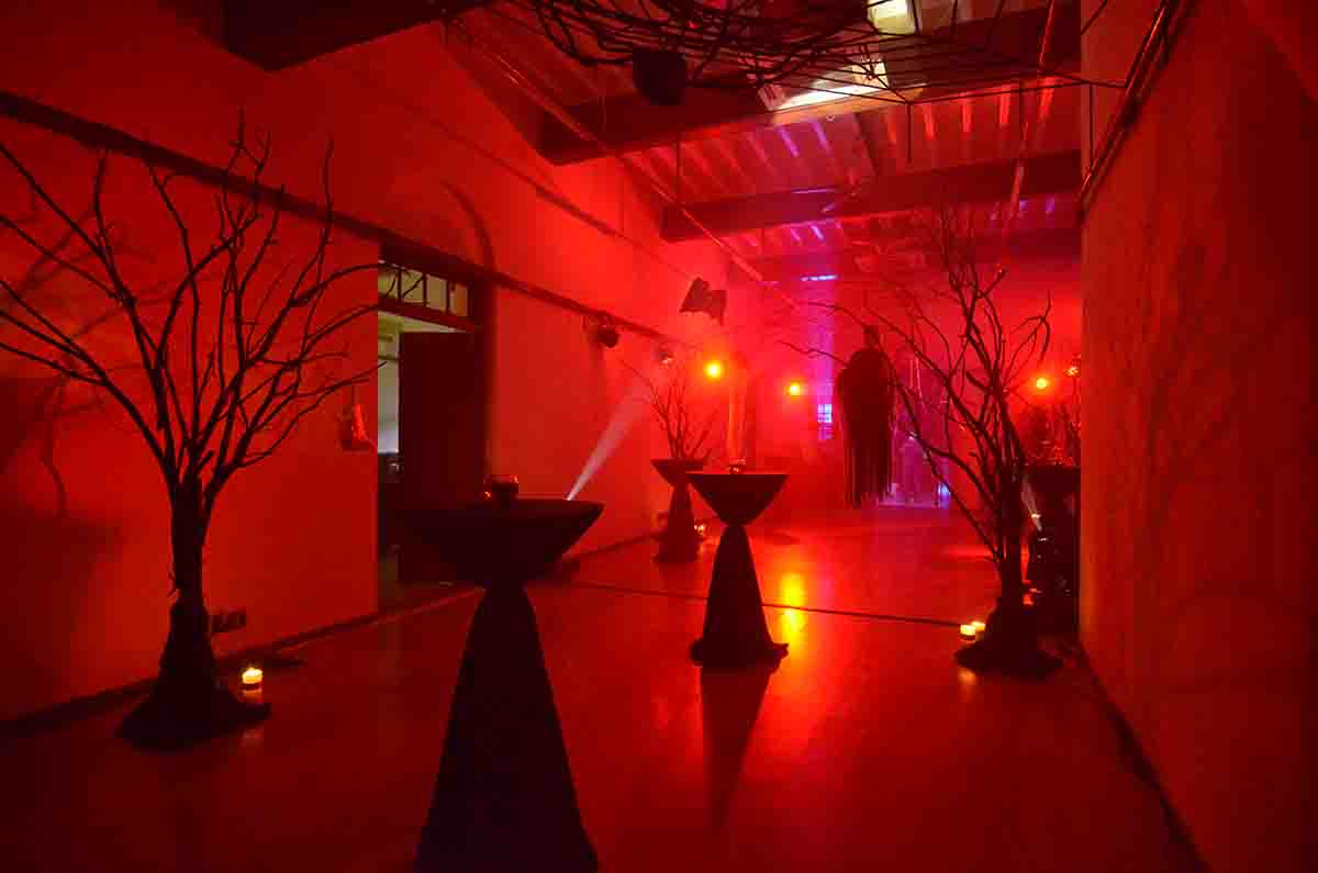 Halloween Theme Decor for Corporate Party by Pegasus Events Pvt Ltd