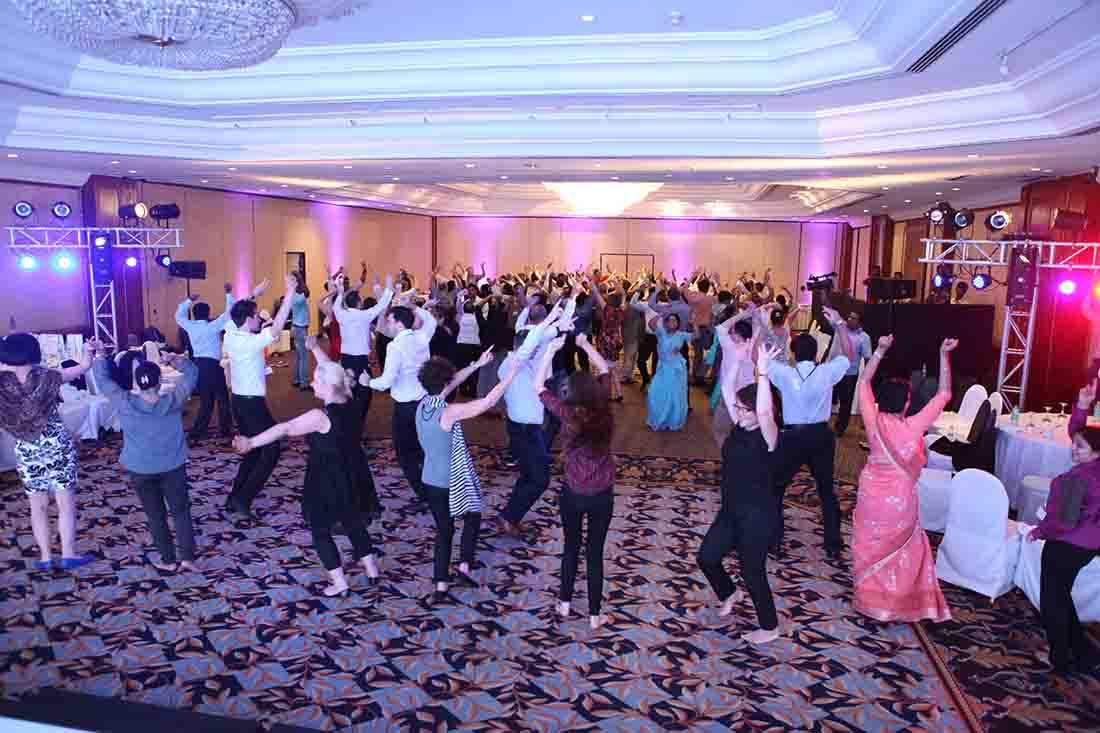 Energizer Activity at Global Conference Events planned and managed by Pegasus Events Pvt Ltd