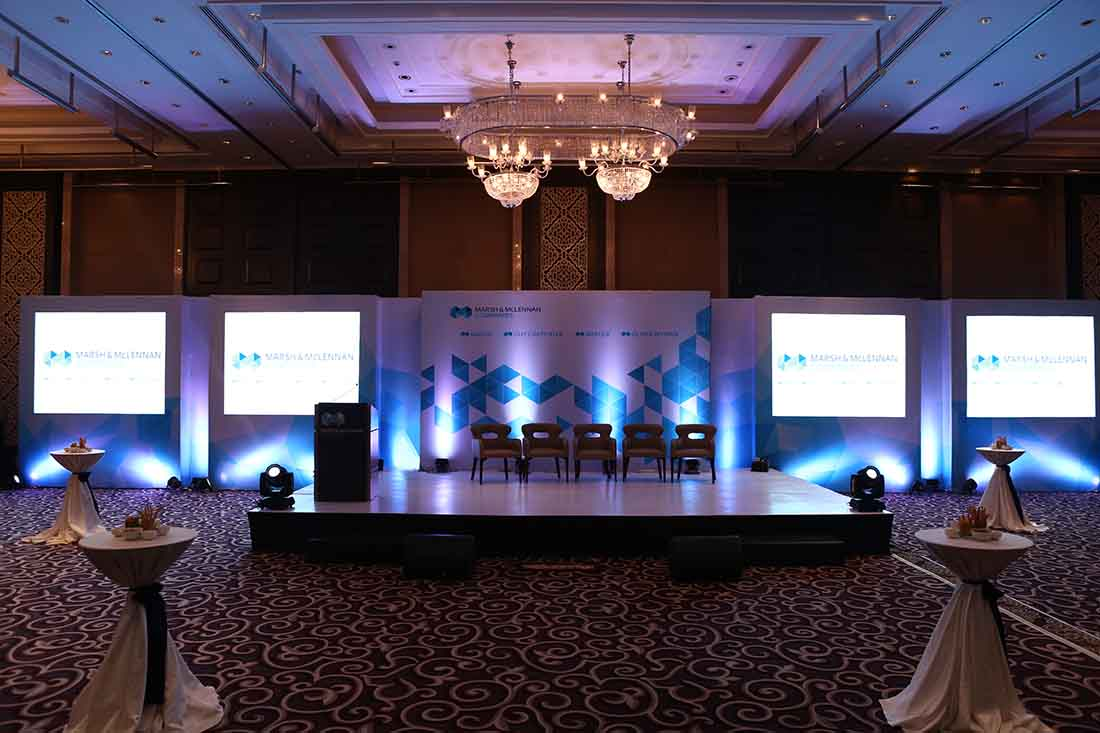 Conference event planned and managed by Pegasus Events Pvt Ltd