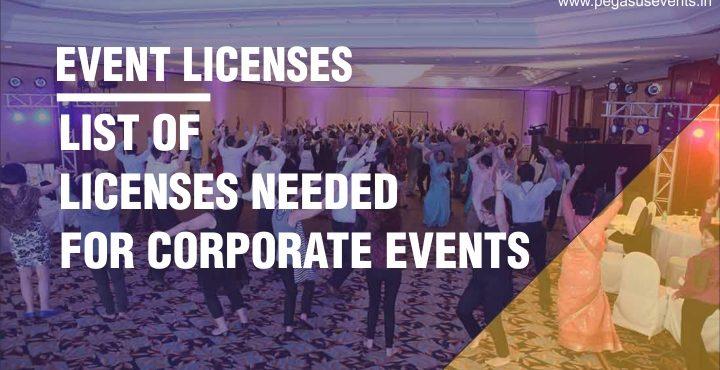 List of Licenses needed for your next corporate event