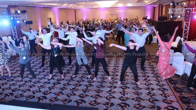 Dance Workshop photo from blog about event ideas to keep your audience interested by Pegasus Events Pvt Ltd.