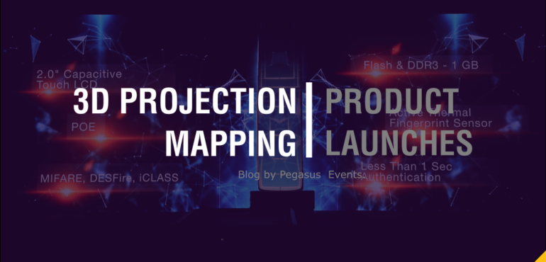 Product Launch | 3D Mapping | Pegasus Events