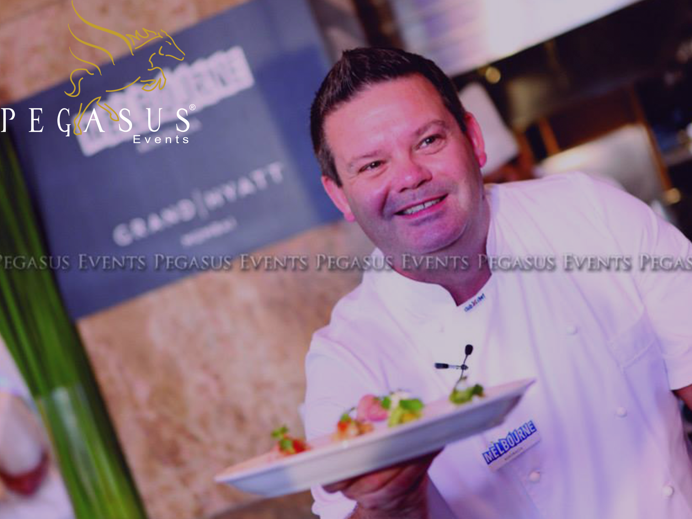 Media Masterclass with Gary Mehigan organized by Pegasus Events