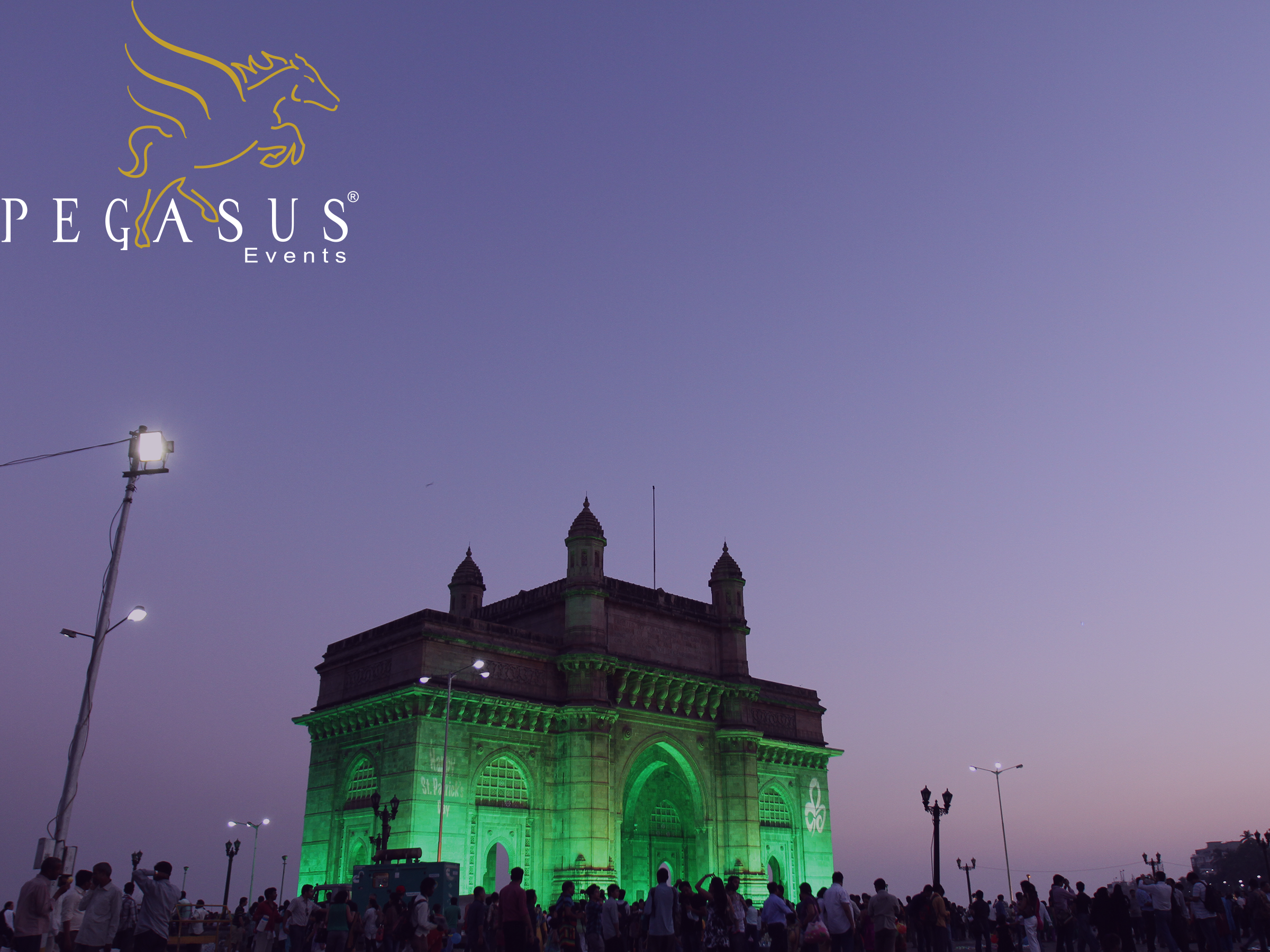 Gateway of India Illumination by Pegasus Events Pvt Ltd