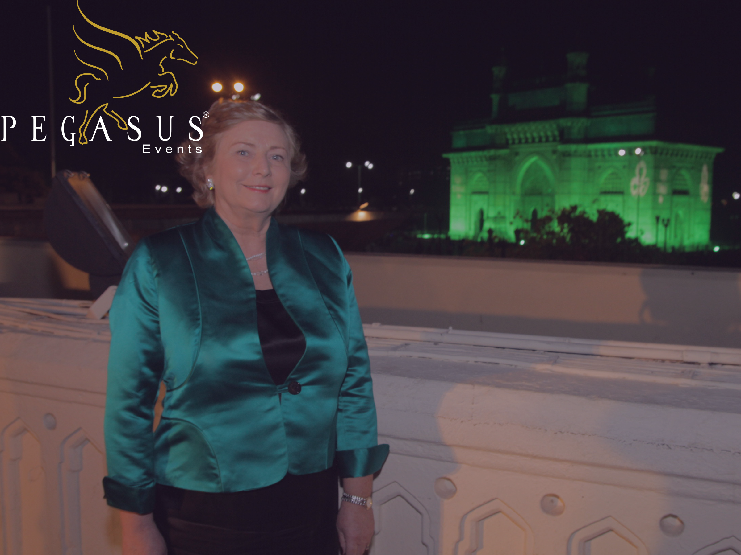 Gateway Greening for St.Patricks Day by Pegasus Events Pvt Ltd