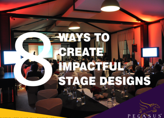8 Impactful ways to create your event stage design!