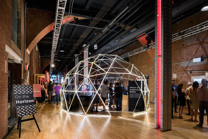 Dome shaped immersive experience | Creative ideas by Pegasus Events