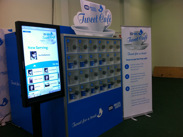 Tweet Cafe | creative ideas for corporate events | Pegasus Events